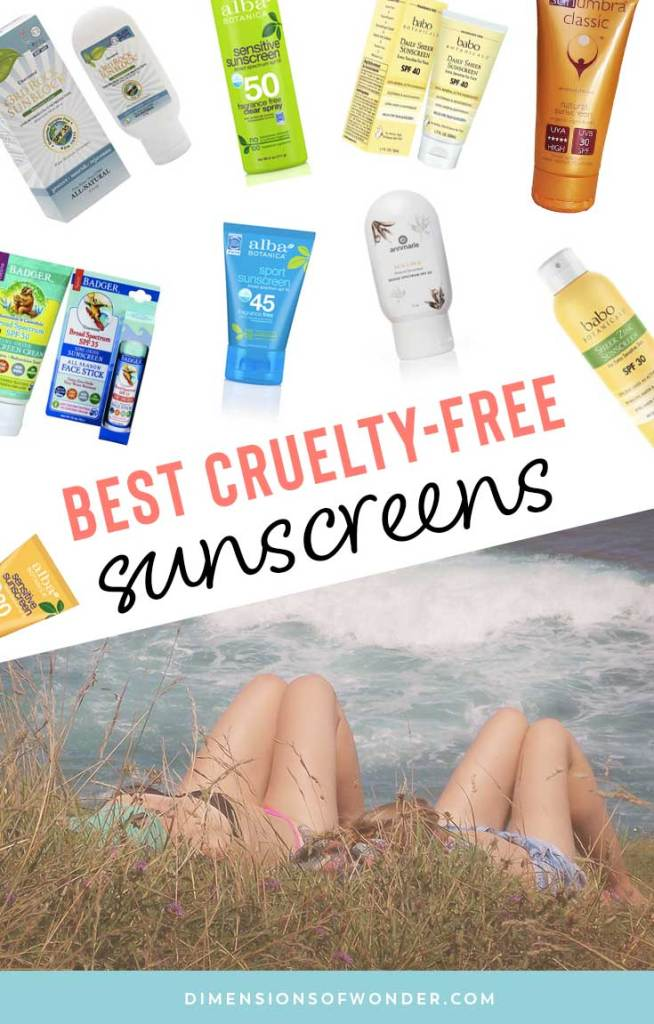 best cruelty-free sunscreens top brands products for all ages different activitites SPF