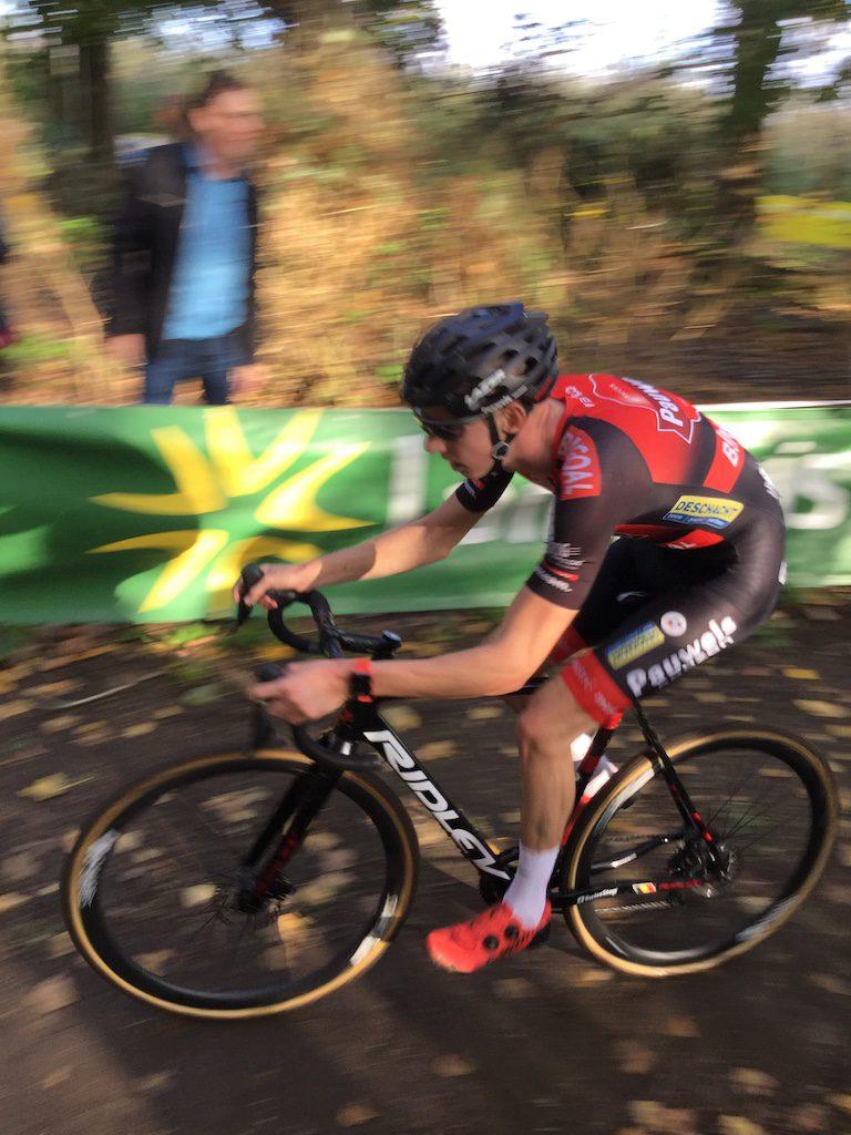 Cycliste de l'équipe Pauwel Bingoal