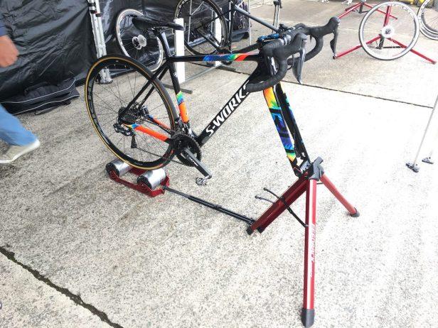 Vélo S-Works sur home-trainer Feedback