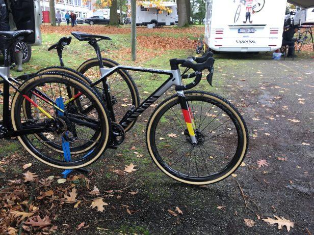 Vélo Canyon Inflite du champion d'Allemagne de Cyclocross