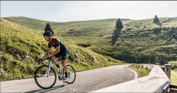 Cycliste sur un Basso Vent