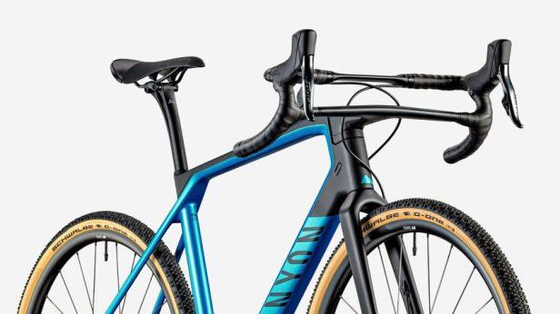 Vélo Canyon Grail de trois quart.