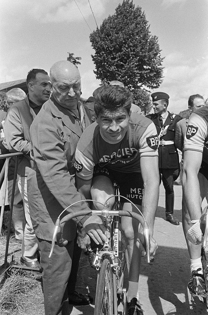 Raymond Poulidor sur le Tour 1966