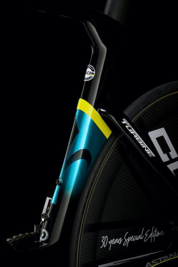 détail Wilier Triestina Turbine Vélos Équipes Pros 2020