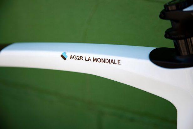 tube supérieur Eddy Merckx 525 Vélos Équipes Pros 2020