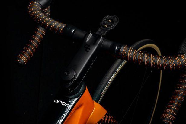 Orbea OMX Fundacion Euskadi guidon OC2 Carbon Vélos Équipes Pros 2020