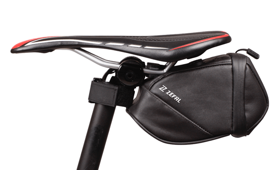 sacoche de selle Zefal Iron Pack DS TF montée