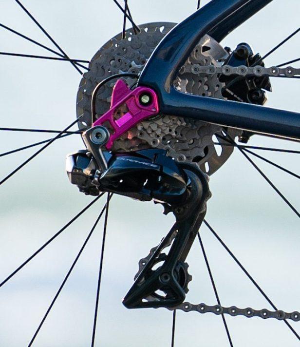 Cannondale Education First EF Patte de dérailleur Direct Mount Vélos Équipes Pros 2020