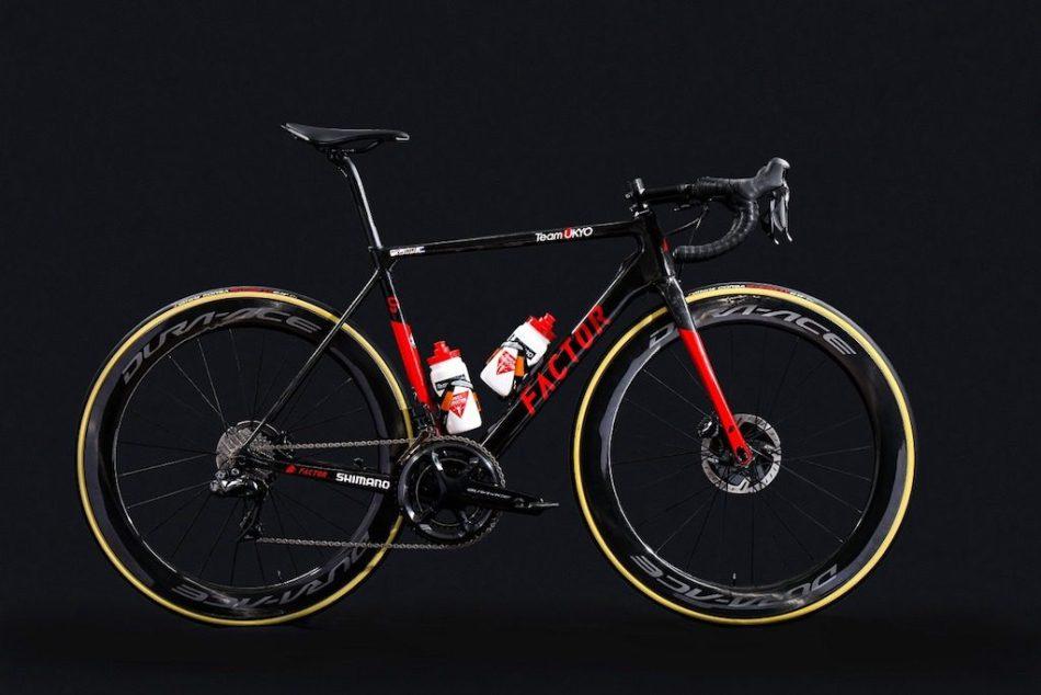 Factor O2 VAM Team Ukyo Vélos Équipes Pros 2020