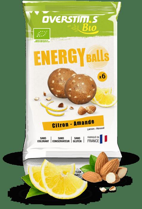 Energy Balls Overstim's Citron Amande