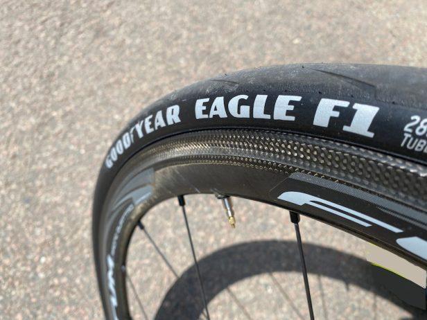 Goodyear Eagle F1 Test