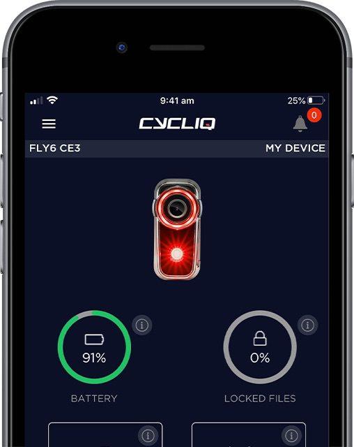 Caméra Cycliq Fly6 Gen 3
