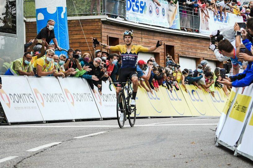 Deuxième étape criterium Dauphiné Roglic