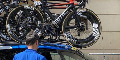 Tour 2020 matériel des NTT Pro Cycling