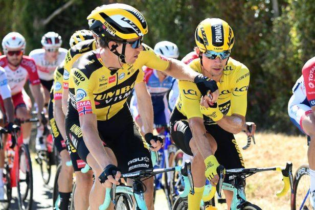 Caleb Ewan Poitiers Tour 2020 Wout Van Aert Primoz Roglic