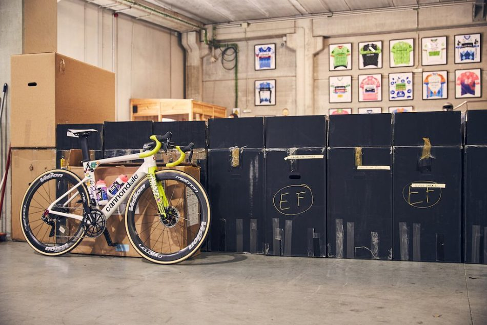 EF Pro Vélos Maillots
