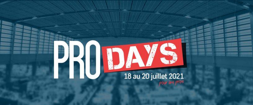 Annonce Pro-Days 2021