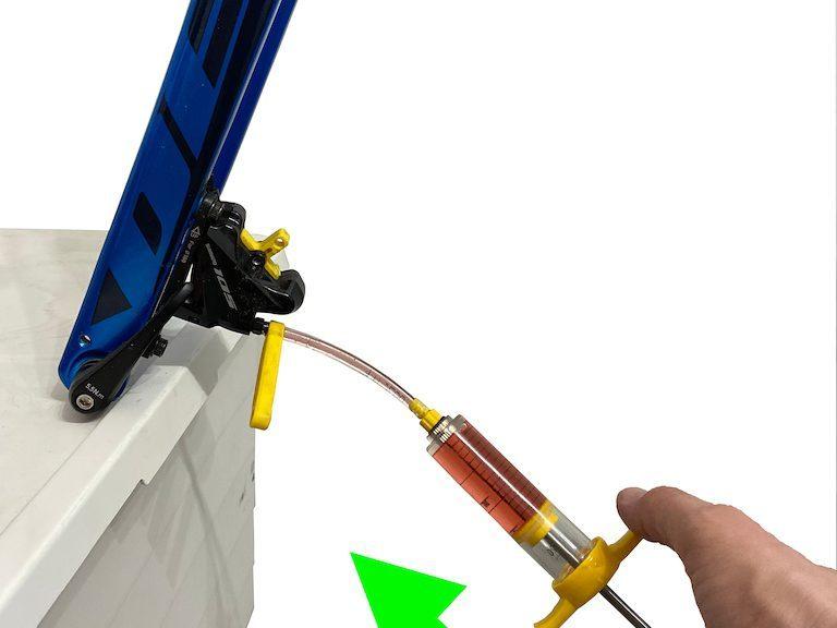 Purge freins Shimano hydrauliques à disque