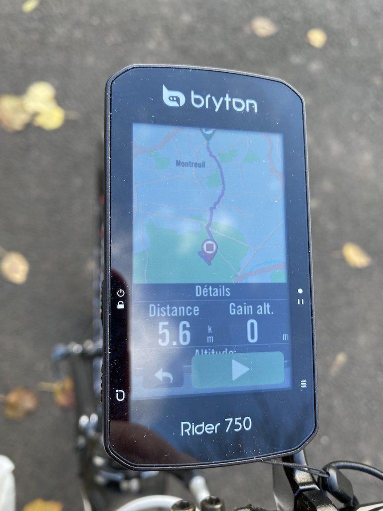 Bryton Rider 750 GPS