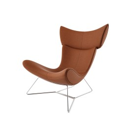 Grey Material Office Chair Wide Rocking Imola By Boconcept - Dimensiva