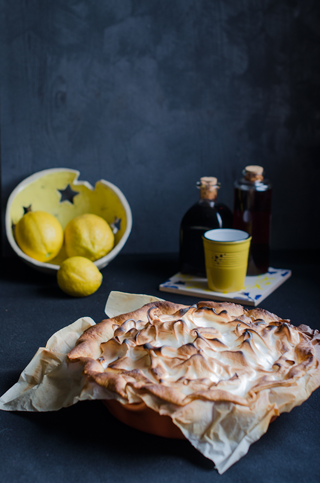 Lemon Pie - Tarta de limon y merengue