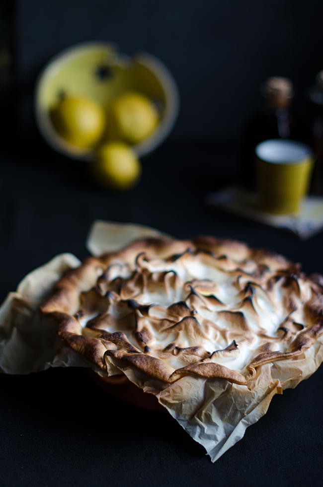 Lemon Pie -tarta de limon y merengue