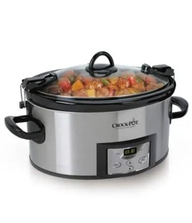 Crock Pot Cook & Carry Countdown 6-quart Slow Cooker Dillards