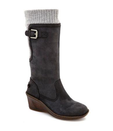 Ugg Skyfall Knit Wedge Sweater Boots Dillards