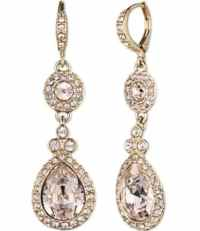 Givenchy Crystal Drop Earrings | Dillards