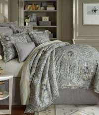 Southern Living Kingsley Metallic Medallion Cotton & Linen