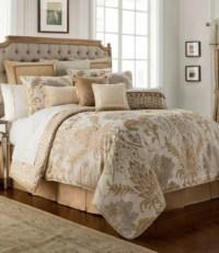 Waterford Ansonia Floral Jacquard Comforter Set | Dillards