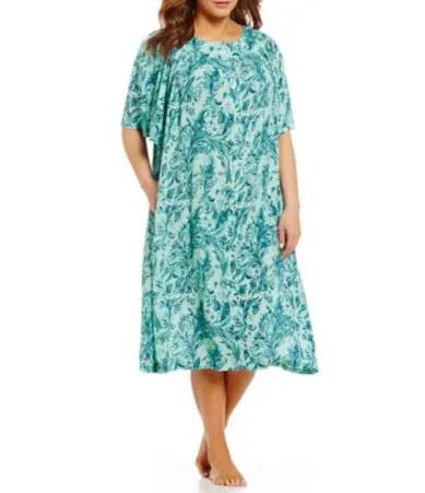 Go Softly Plus Paisley Patio Dress