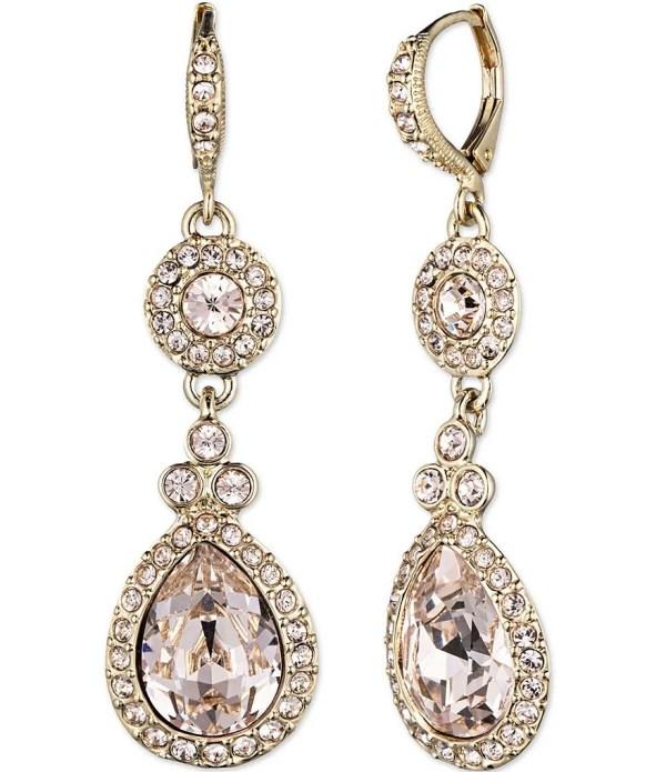 Givenchy Crystal Drop Earrings Dillard'
