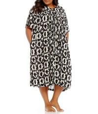 Go Softly Plus Tie-Dye Patio Dress | Dillards