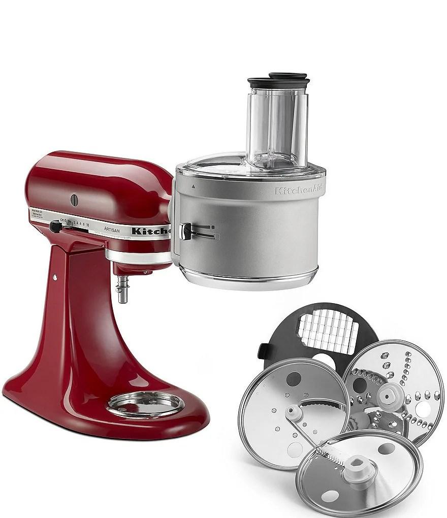 kitchen aid mixers ideas and designs kitchenaid dicing food processor stand mixer attachment kit dillard s