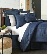 Cremieux Cotton Denim Comforter | Dillards