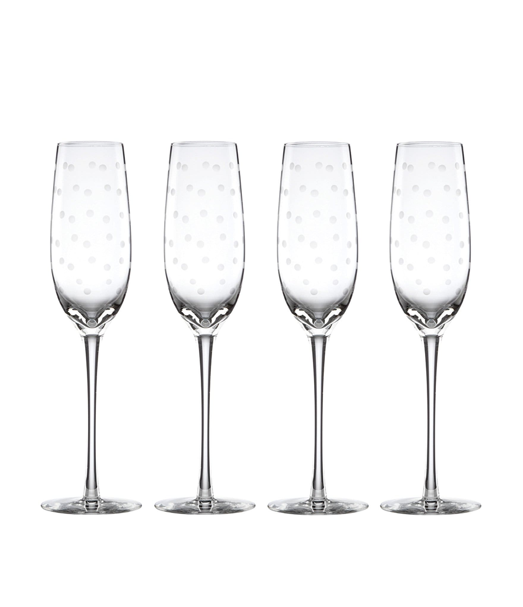 Kate Spade New York Larabee Road 4 Piece Dotted Crystal