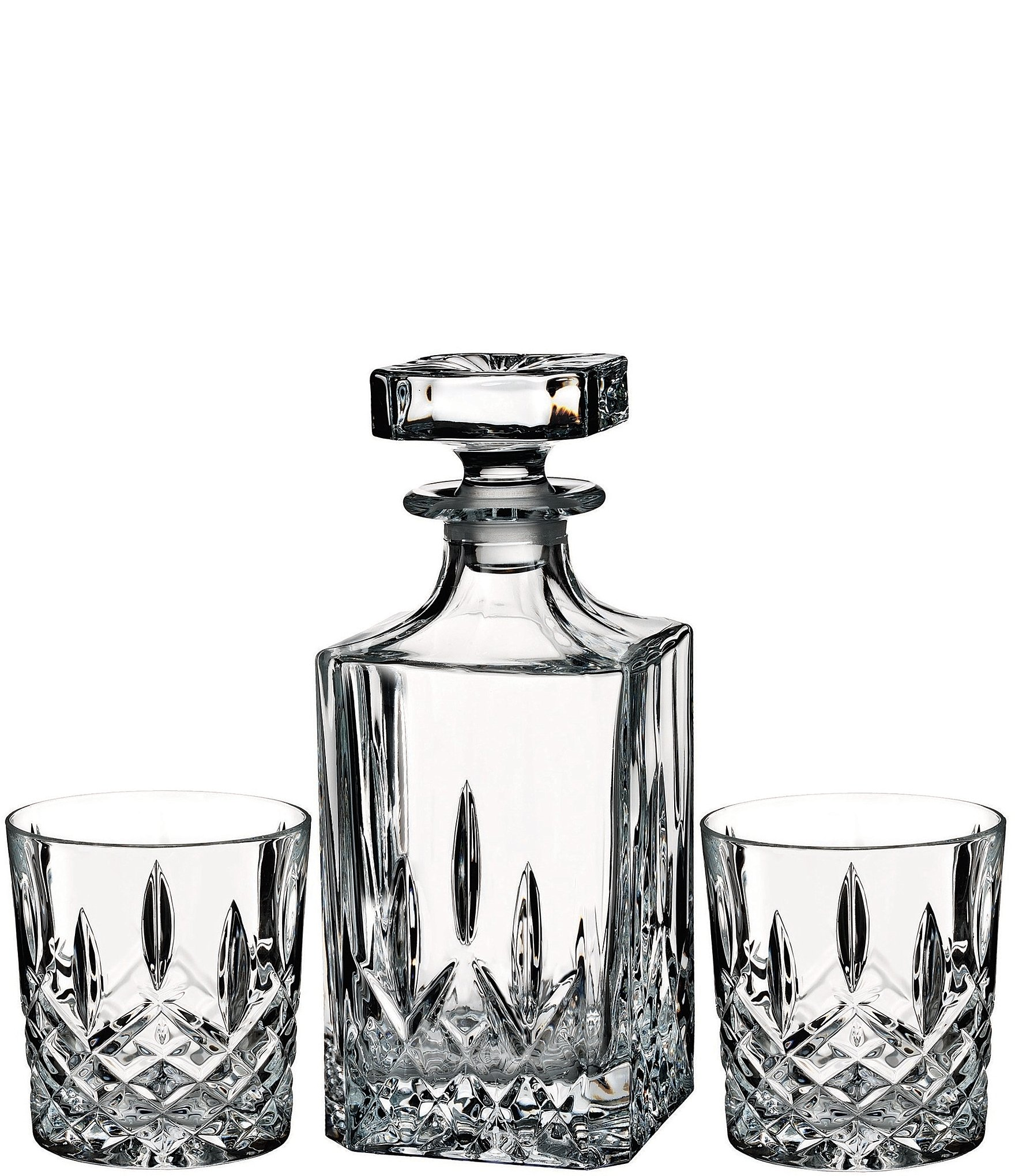 Marquis by Waterford Markham Crystalline Square Decanter