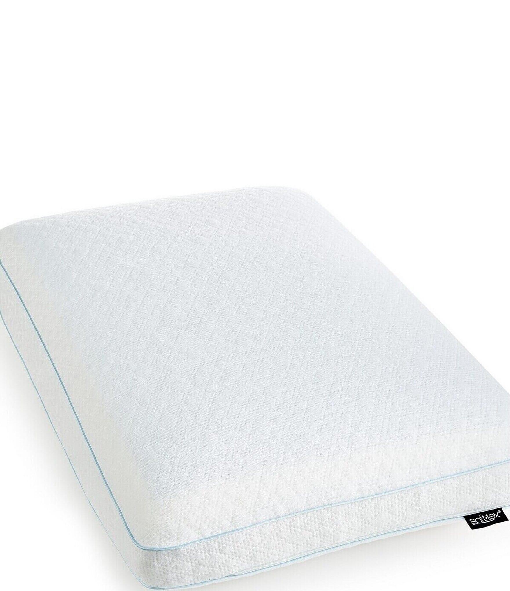 sensorpedic luxury cooling gel overlay memory foam bed pillow dillard s