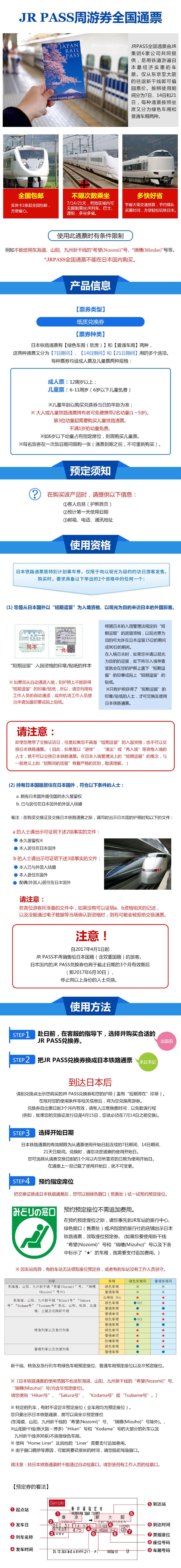 【全國包郵】JR PASS日本全國鐵路周游券7日/14日/21日兌換券 新干線高鐵票線路推薦【攜程玩樂】