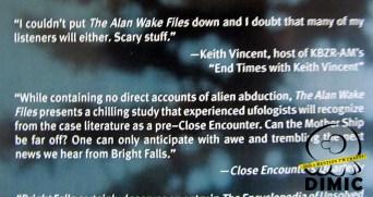 Alan Wake - The Alan Wake Files (Back)