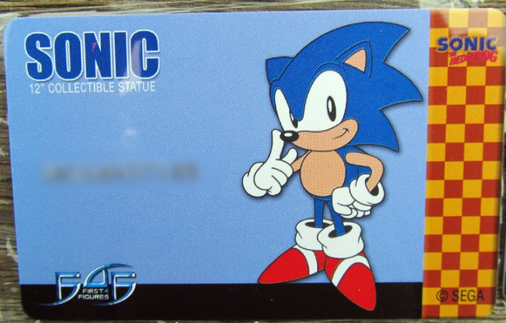 Sonic - Authenticate card