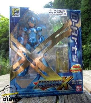 Bandai Megaman D-Arts: Megaman SDCC Exclusive (Box)