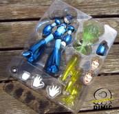 Bandai Megaman D-Arts: Megaman SDCC Exclusive (Tray)