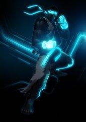 Tron-ified Ryu