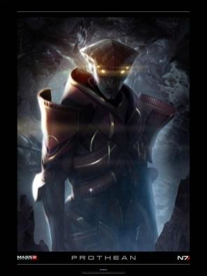BioWare - Mass Effect 3: Prothean lithograph