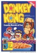 Donkey Kong Cereal (Leslie Cabarga)