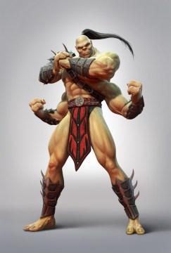Mortal Kombat: Goro (MK9 render)