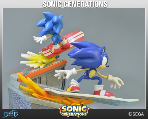 First 4 Figures - Sonic Diorama: Sonic Generations