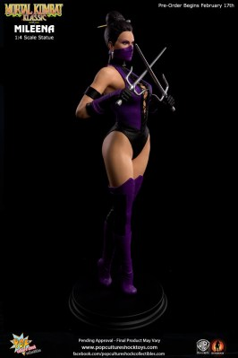 Pop Culture Shock - Mortal Kombat: Mileena (pre)